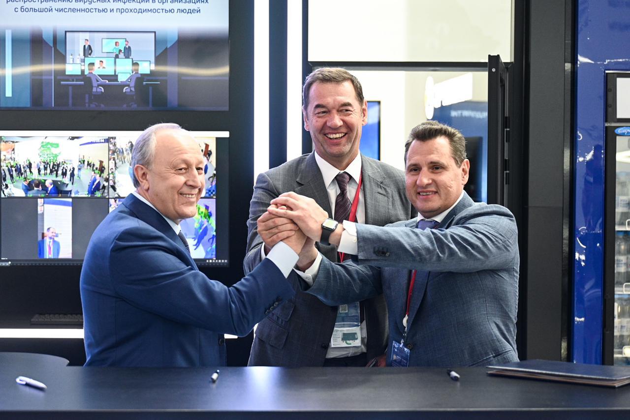 Правительство Саратовской области, Ростех и «ЭР-Телеком Холдинг» создадут телеком-инфраструктуру саратовского технопарка